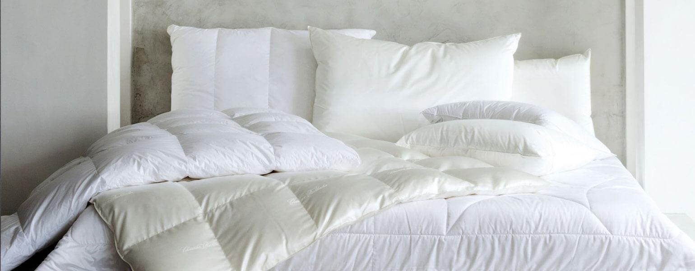 Пуховые одеяла и подушки в наличии BEL ÉTAGE