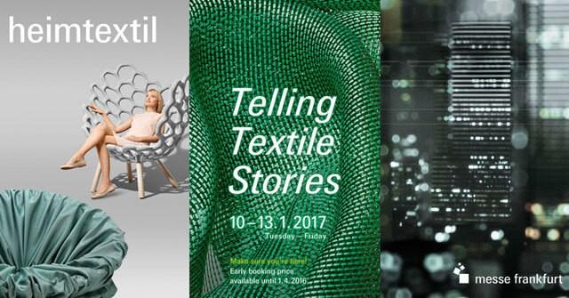 Выставка текстиля Heimtextil 2017