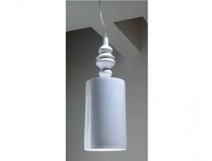 Подвесной светильник, керамика, белый